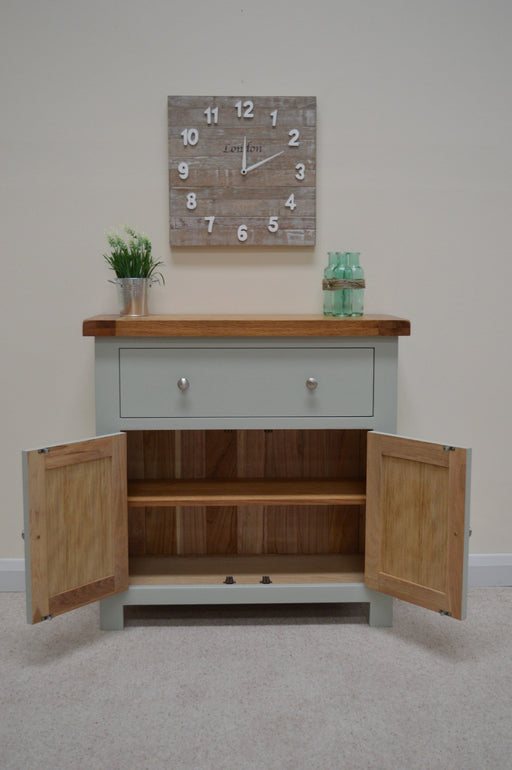 Camborne Painted Mini Sideboard Twin Cupboard / Twin Drawer