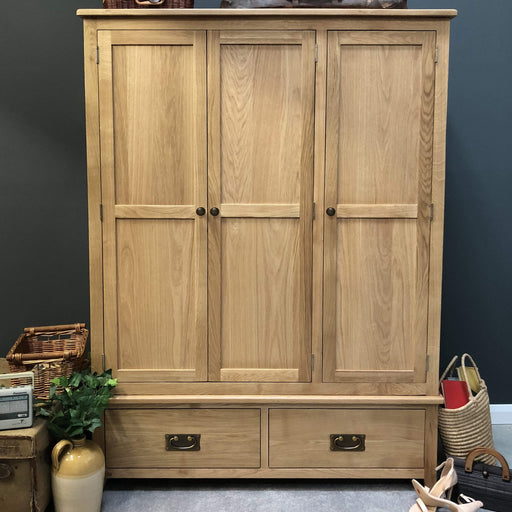 Grange 3 Door Triple Wardrobe