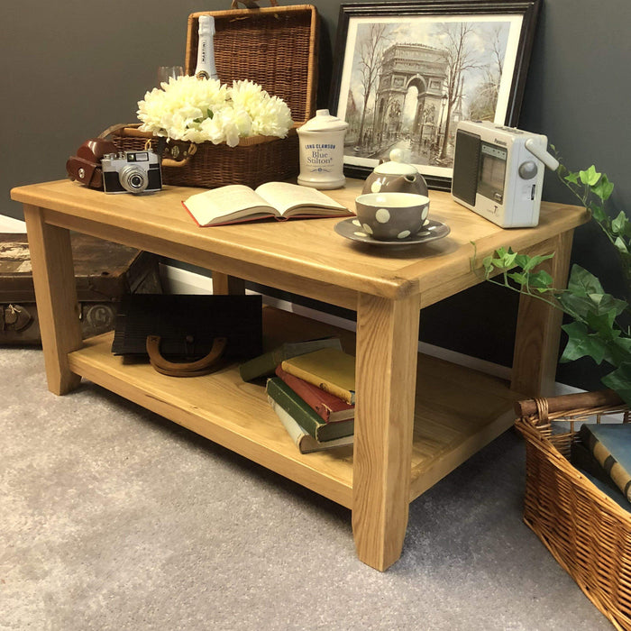 Grange Oak Coffee Table