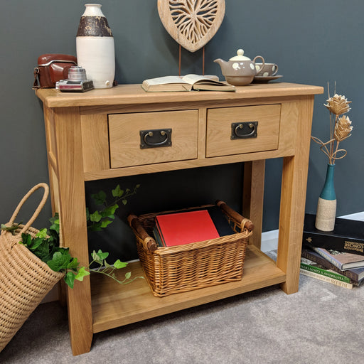 Grange Oak Console Table