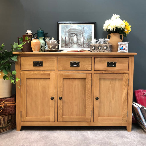 Grange Oak Large Sideboard