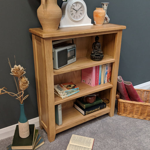 Grange Oak Low Bookcase
