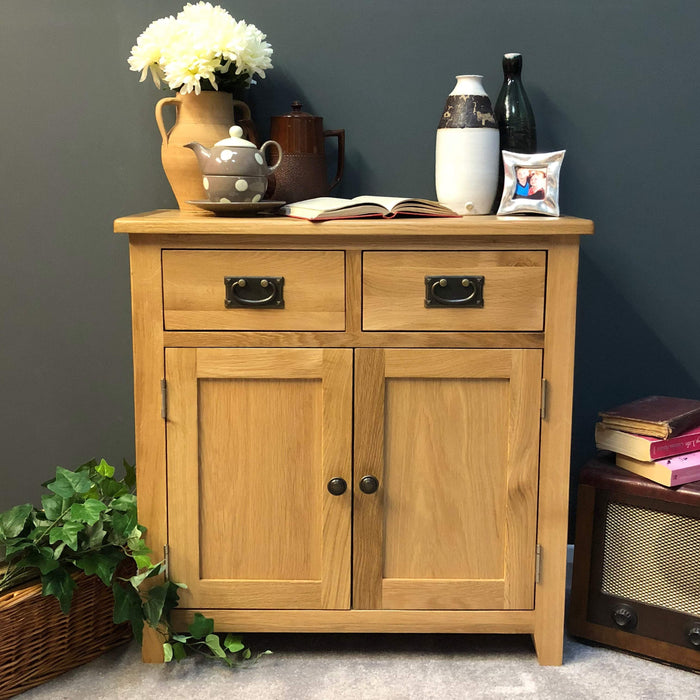 Grange Oak Mini Sideboard