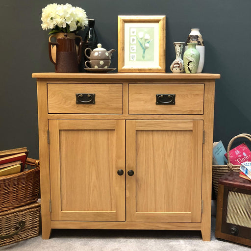 Grange Oak Small Sideboard