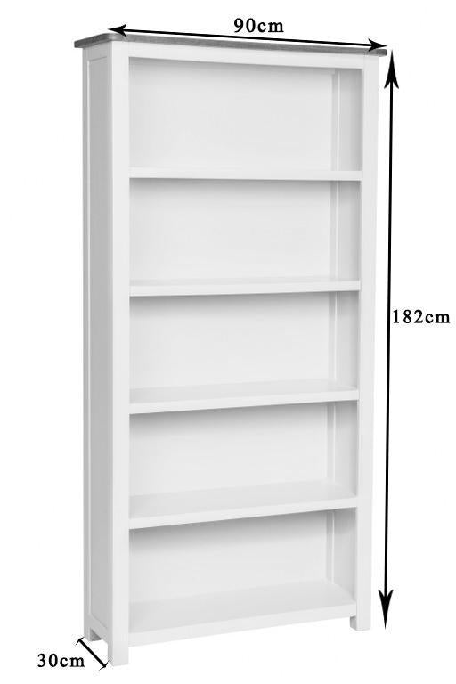 Portland Oak Tall Bookcase