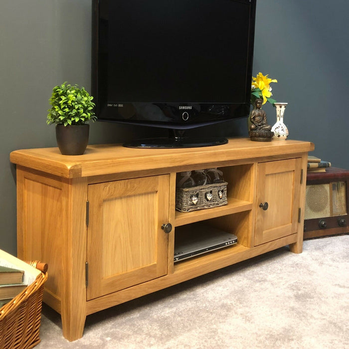 Beaufort Large Oak TV Unit