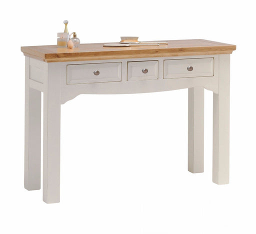 Norfolk Grey Painted Oak Dressing Table