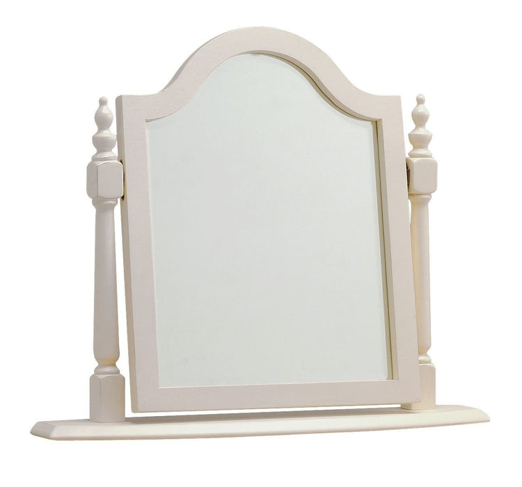 Norfolk Grey Painted Oak Dressing Table Swing Mirror