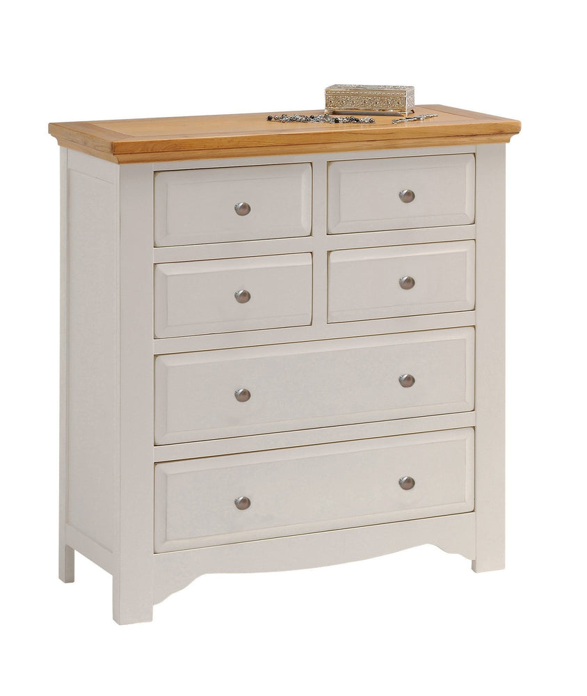 Norfolk Painted 6 Drawer 4 Over 2 Chest of Drawers