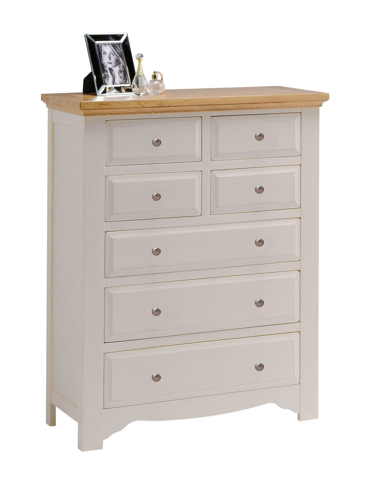 Norfolk Painted 7 Drawer (4 Over 3) Chest of Drawers
