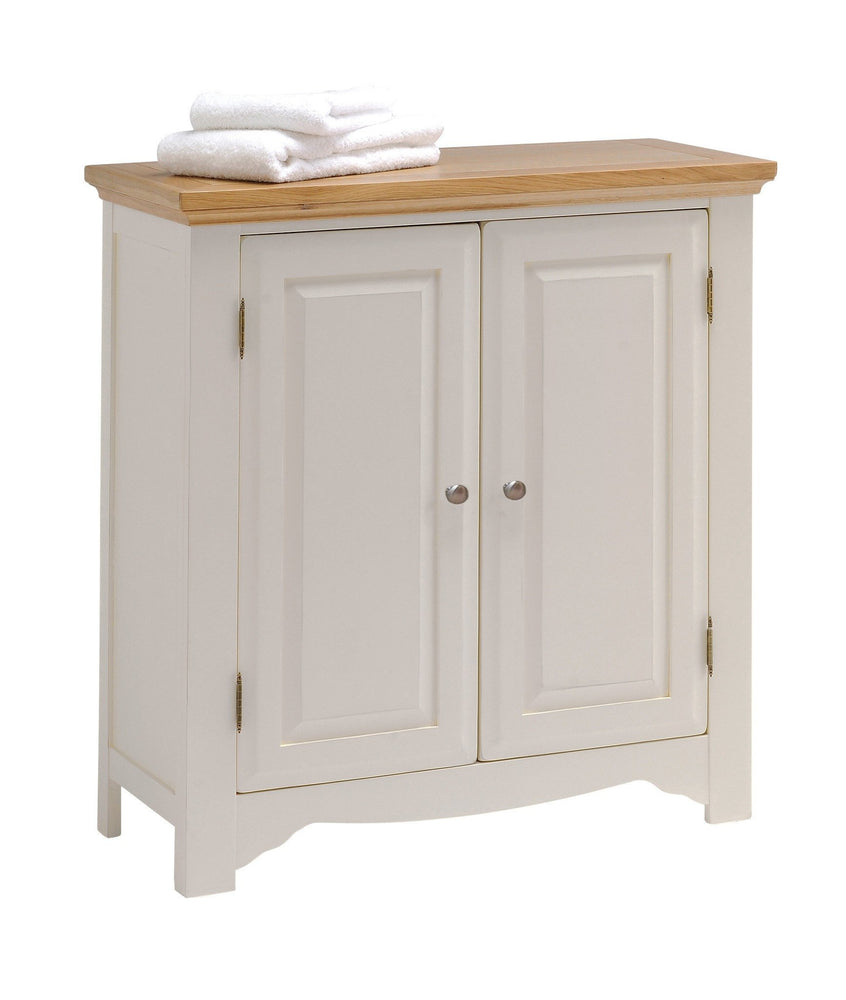 Norfolk Painted Oak 2 Door Linen Cabinet