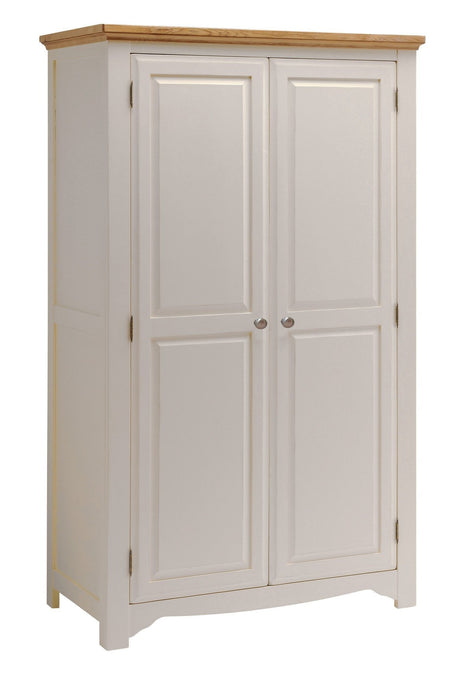 Norfolk Painted Oak 2 Door Wardrobe