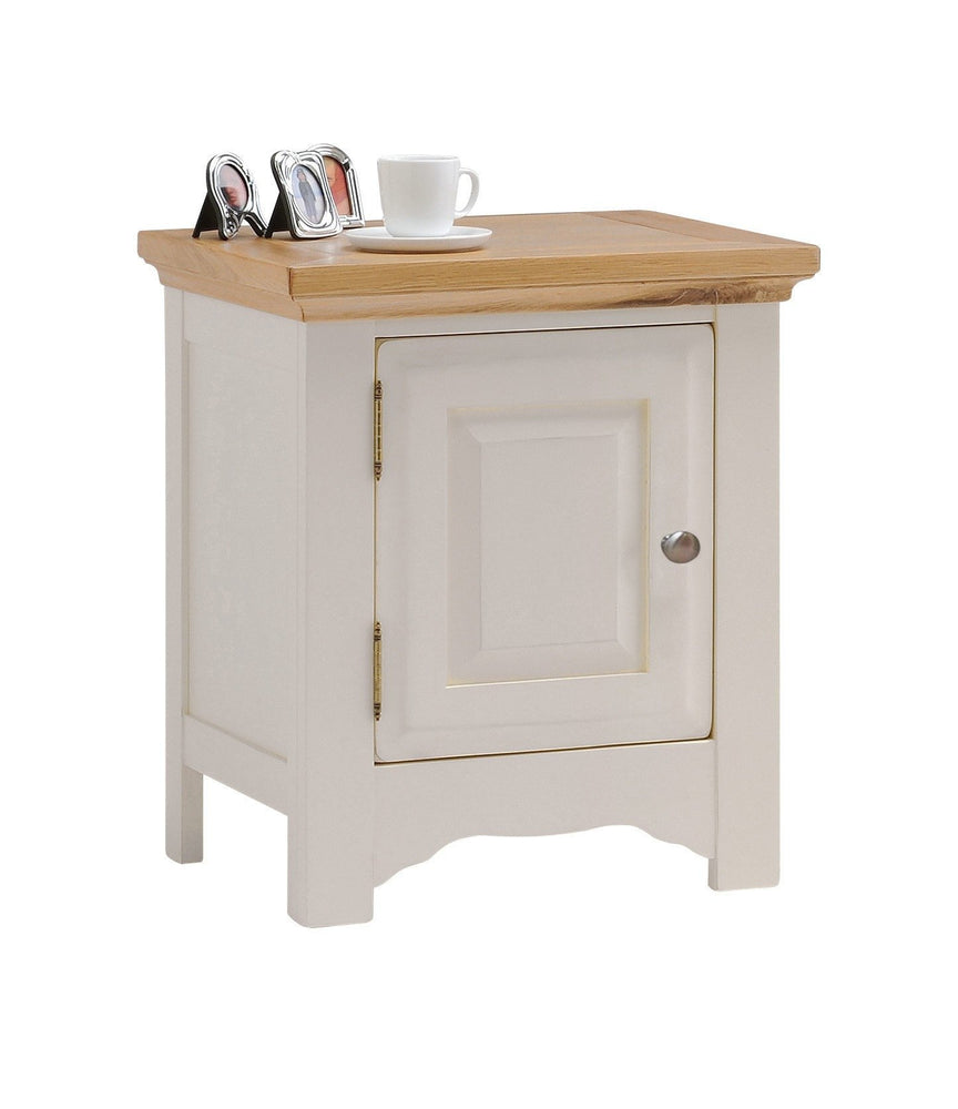 Norfolk Painted Oak Bedside Cabinet