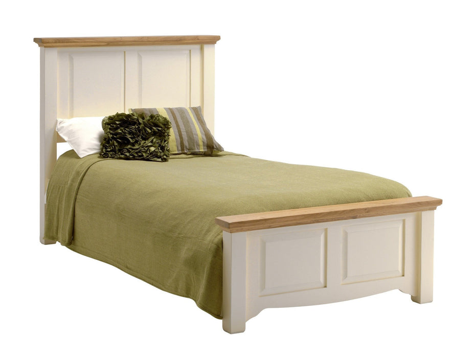Norfolk Painted Oak Bedstead