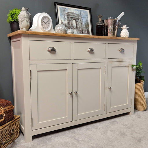 Sutton Oak Large Sideboard