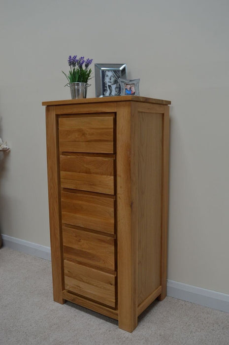Stratton 5 Drawer Narrow Chest