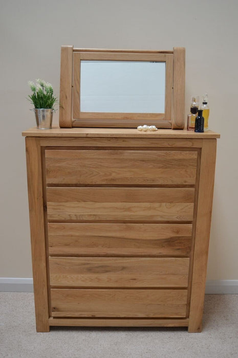 Stratton 5 Drawer Wide Chest