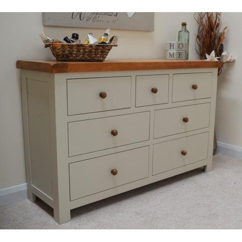 Croft Painted 7 Drawer Multi Chest of Drawers