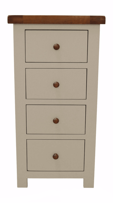Croft Painted Narrow Chest Of Drawers