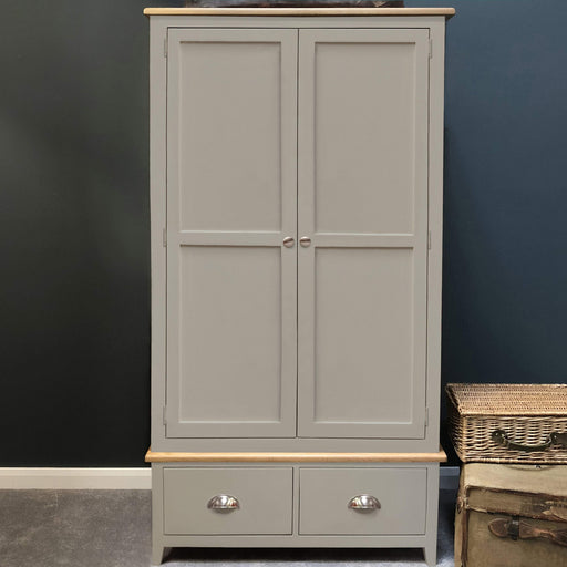 Grateley Painted 2 Door Wardrobe