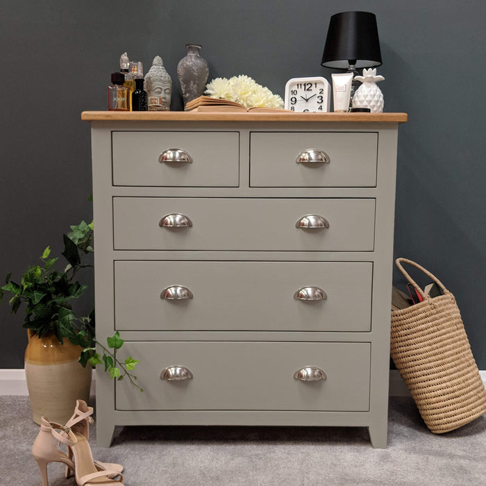 Grateley Painted 2 Over 3 Chest of Drawers