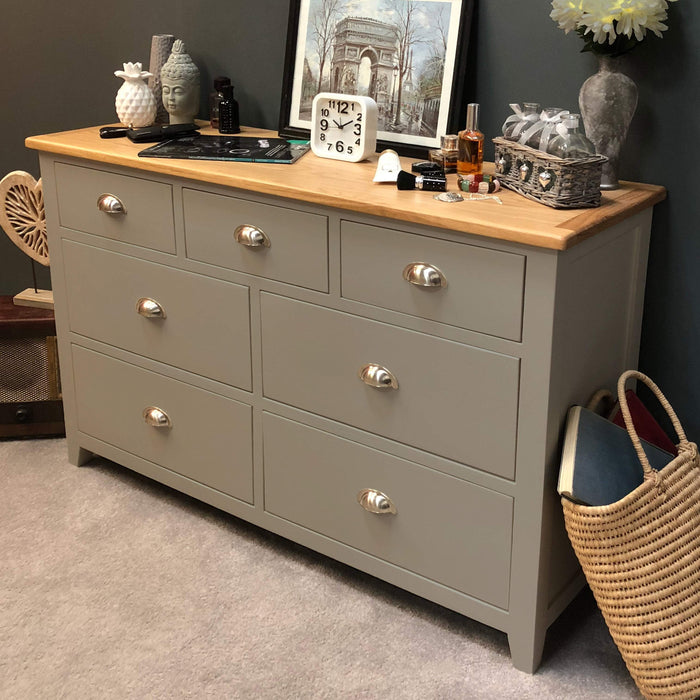 Grateley Painted 7 Drawer Multi Chest of Drawers