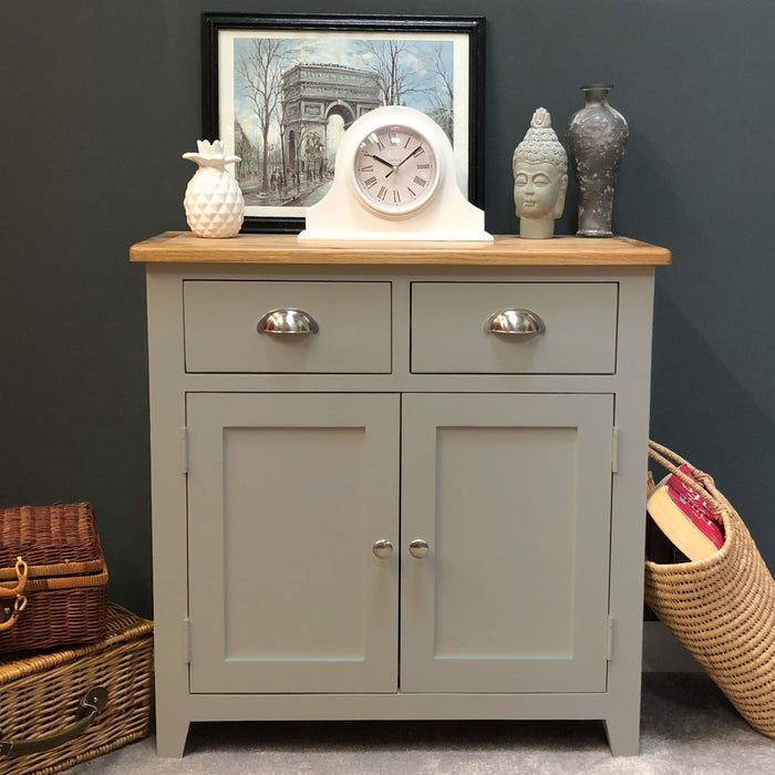 Grateley Painted Oak Mini Sideboard