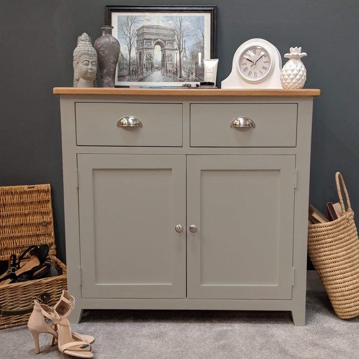Grateley Painted Oak Small Sideboard