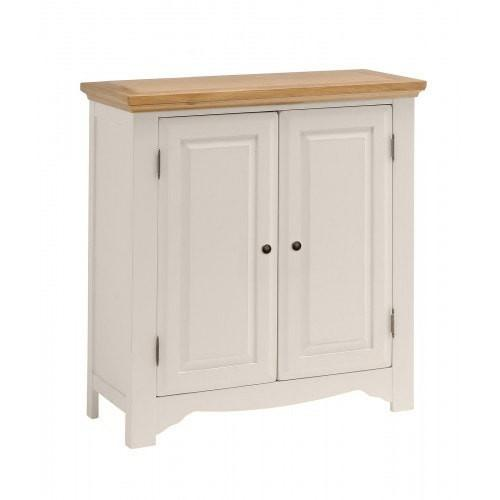 Salisbury Painted Oak 2 Door Linen Cupboard