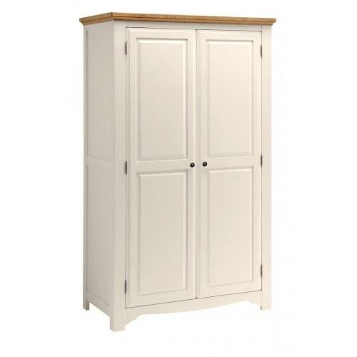 Salisbury Painted Oak 2 Door Wardrobe