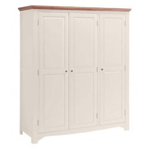 Salisbury Painted Oak 3 Door Triple Wardrobe