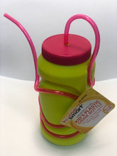 Load image into Gallery viewer, Home Smart Kids Drink Bottle with Color Straw 12.7oz 2CT