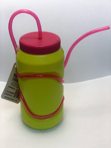 Home Smart Kids Drink Bottle with Color Straw 12.7oz 2CT