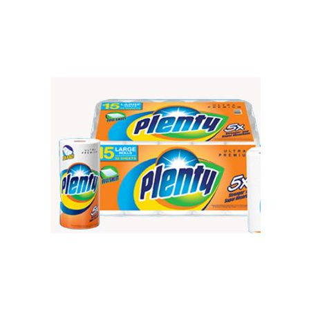 Plenty Paper Towel 15 CT