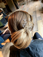 Angel Pins set in a gorgeous bridal bun - Bridal Hairpins by acclaimed Artist Gemma Sutton xx