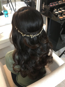 Gold Shooting Stars - Wedding Hair Vein  - Bridal Accessories by Gemma Sutton