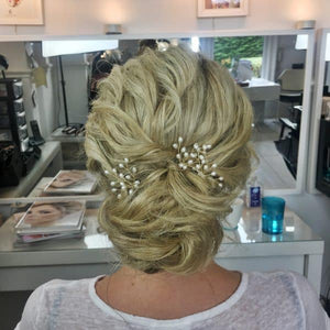 Gold Precious Pearls - Wedding Hair Accessories - Gemma Sutton