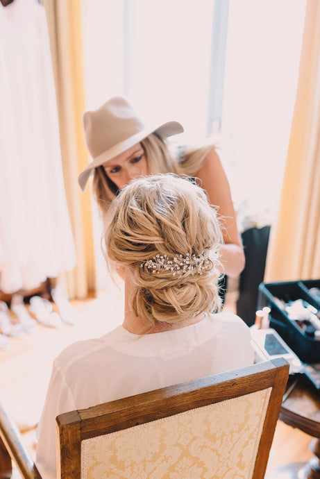 wedding Hair Accessories - Gemma Sutton