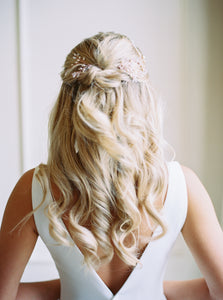 wedding hair accessories for half up half down hair  - Gemma Sutton