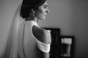 wedding updo - wedding hair vein - Gemma Sutton