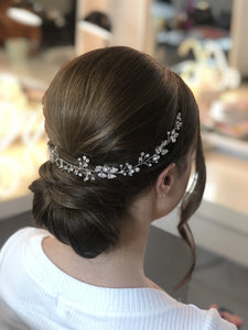 wedding hair vein