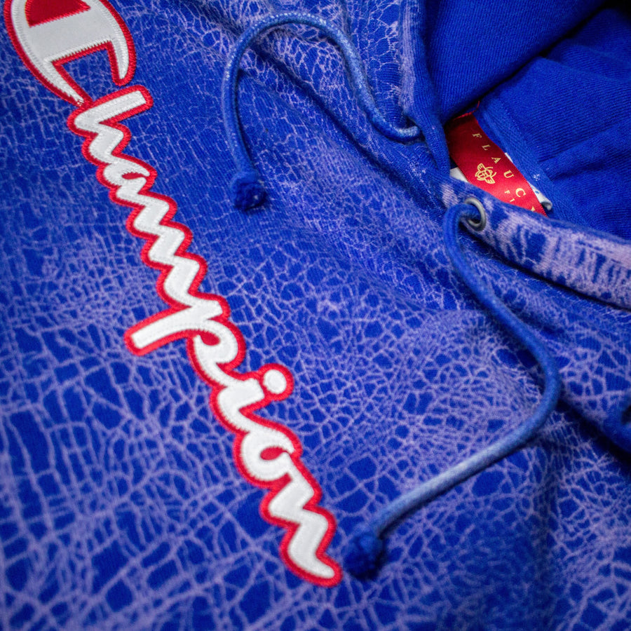 Champion x Flaucy ROYAL CRACK Hoodie