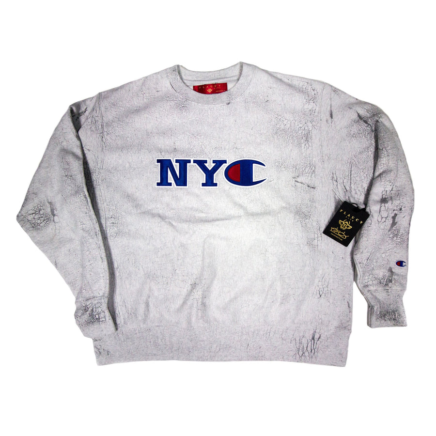 Champion x Flaucy CRACK CITY Crew NYC