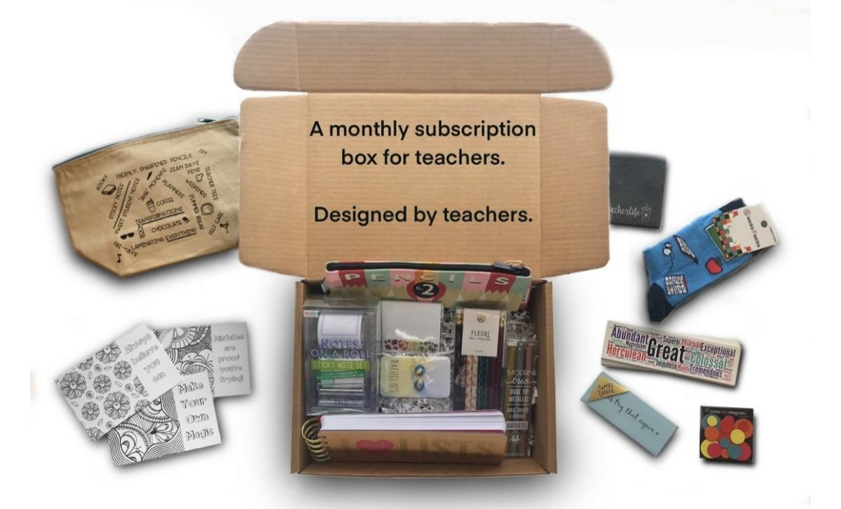 3 Reasons Our Subscription Box Is The Perfect Teacher Gift | The Teacher Trove