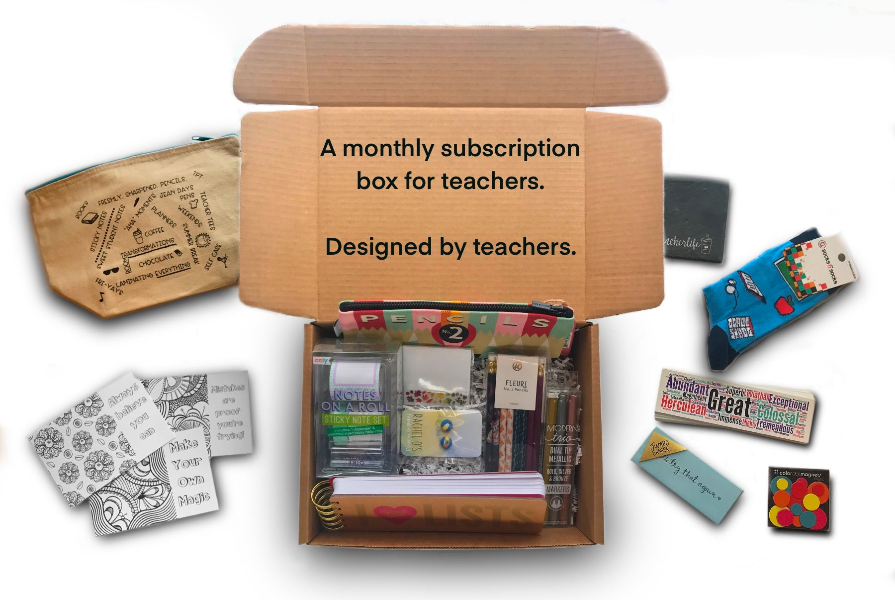 Three reasons why our subscription box is the perfect gift for teachers.