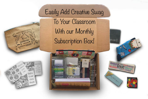Teacher Trove Monthly Subscription Box