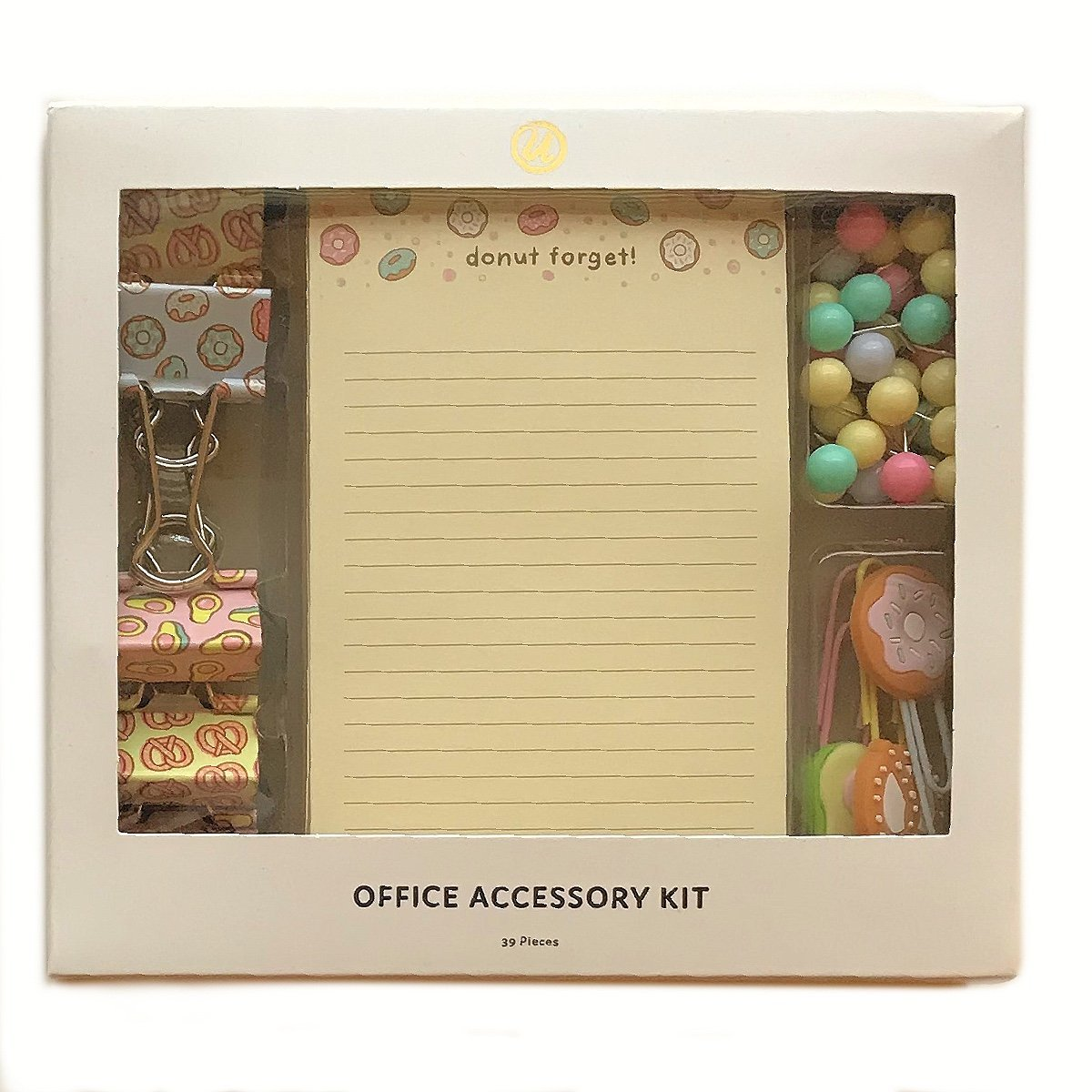 Donut Office Accessory Kit - The Teacher Trove