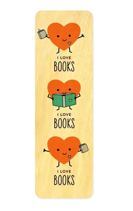 I Love Books Bookmark - The Teacher Trove