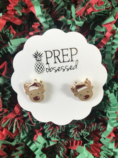 Prep Obsessed Holiday Studs - The Teacher Trove