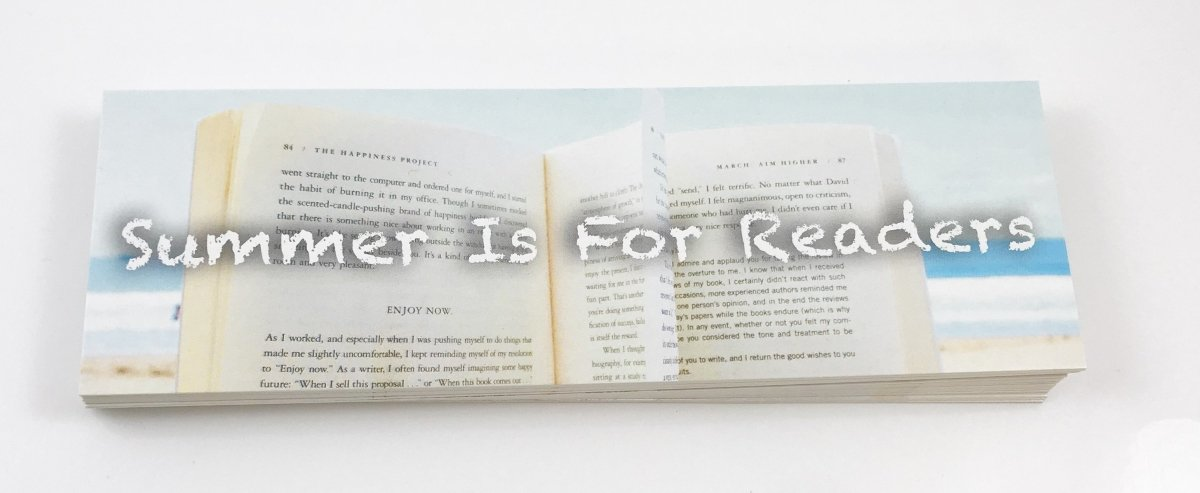 Summer Is For Readers bookmarks - The Teacher Trove
